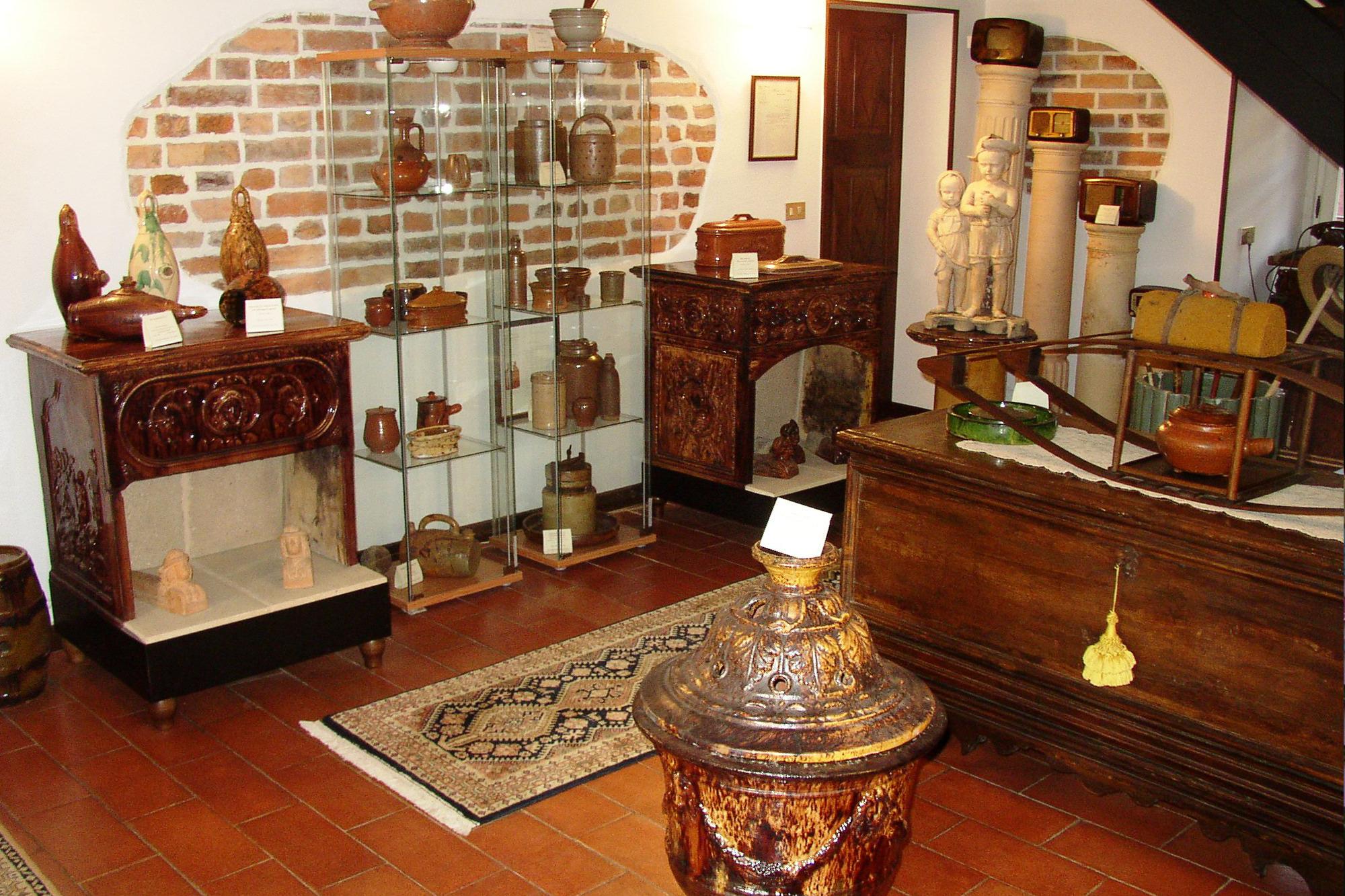 sala colonne franklini casa museo famiglia allaira
