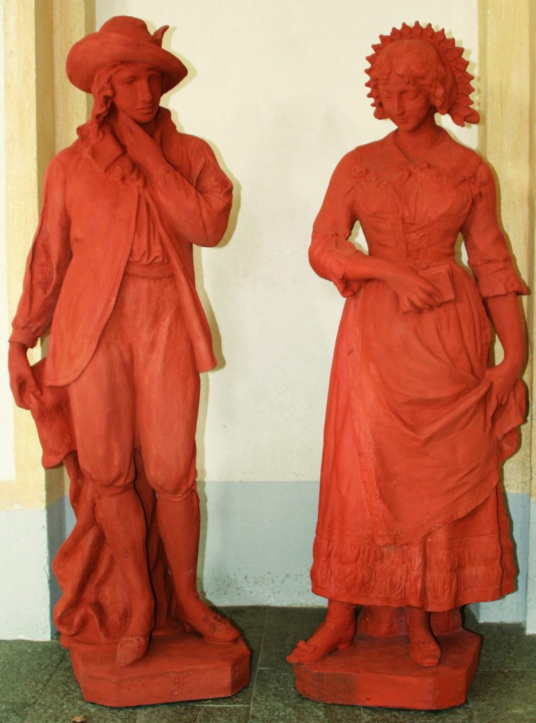 Renzo e Lucia - Angelo Barengo, 1898